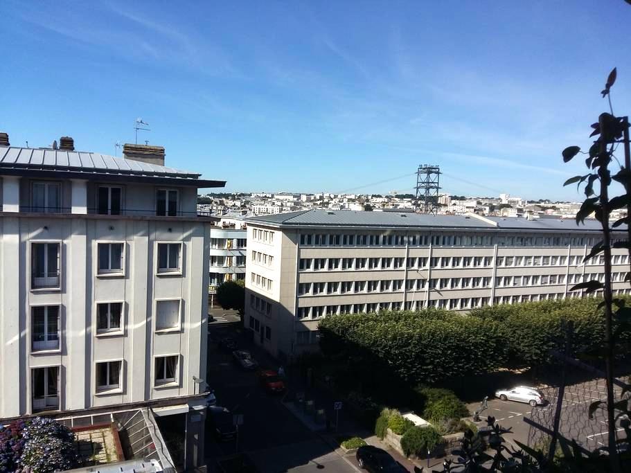 Chambre individuel en hyper-centre de Brest - Siam - Brest - Apartment