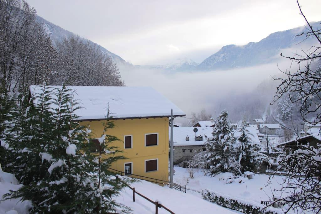 Confortevole appartamento nella valle del Cervino - Antey-Saint-Andrè - Apartment