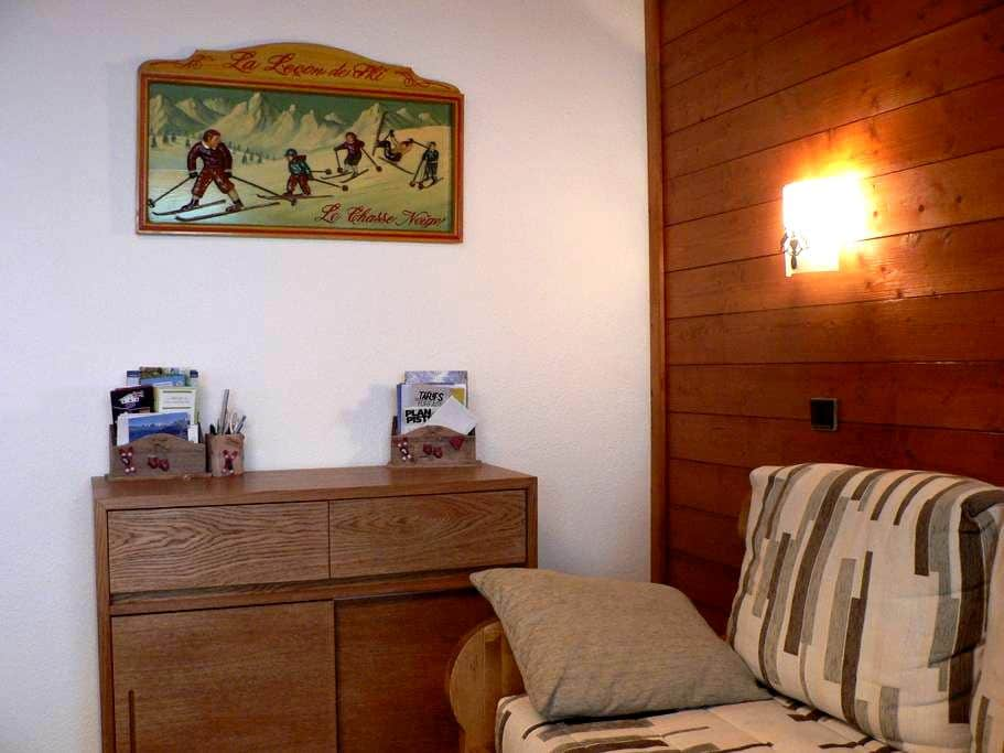 LE CHEVAL BLANC APPT B34 - Les Avanchers-Valmorel - Apartment