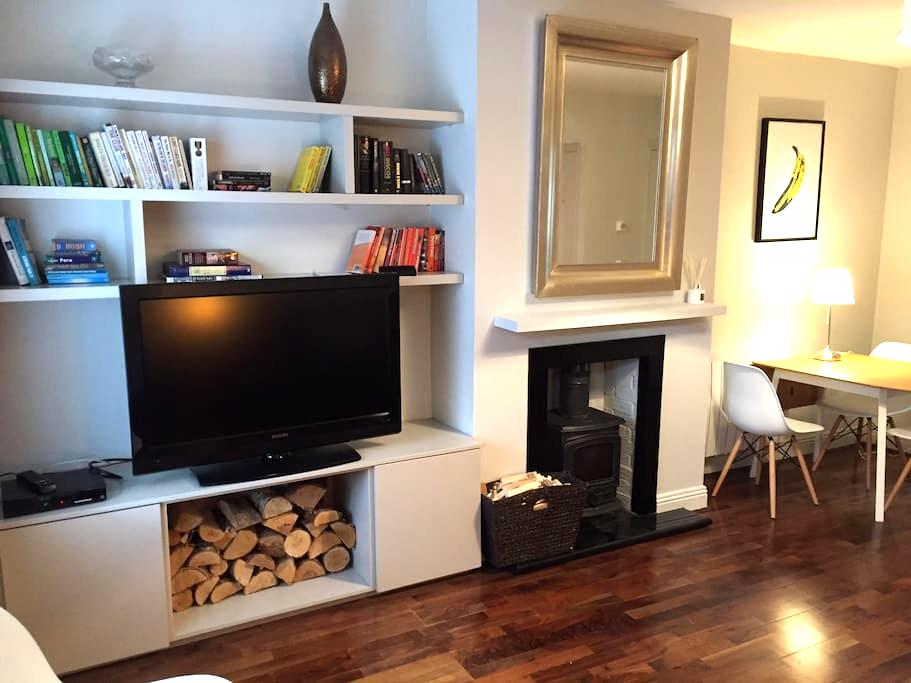 Charming, central, traditional red brick terrace - Dublin - Huis