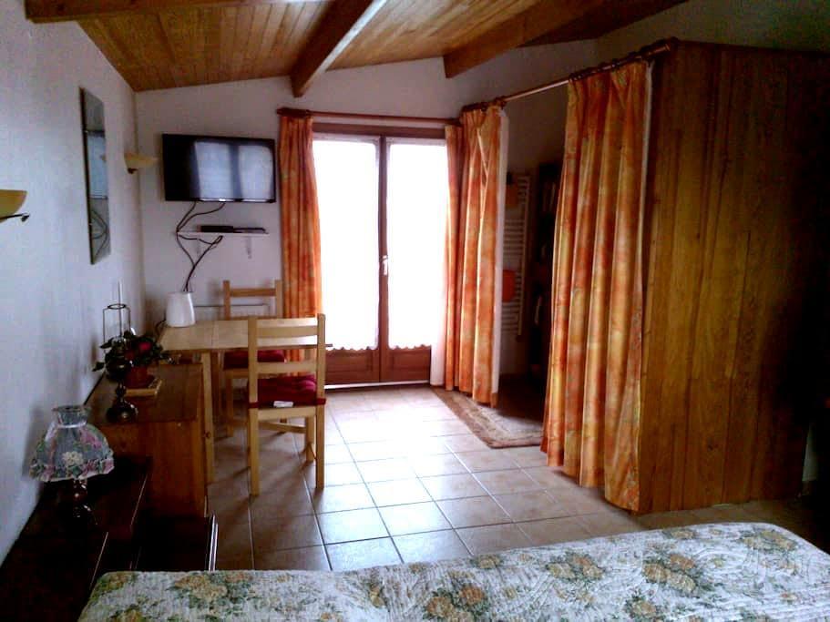 Chambre à part sur les falaises - Octeville-sur-Mer - Huis