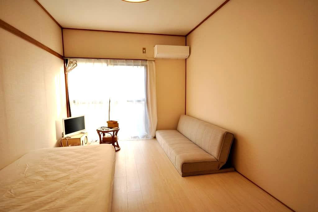 Cozy Private room 13-min to Mt takao 【Wifi】 - Hachiōji-shi - Wohnung