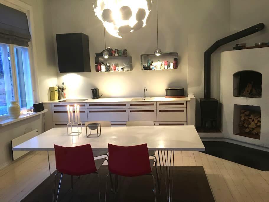 Sjarmerende leilighet sentralt i Frstad, 150 m2 - Fredrikstad - Lägenhet