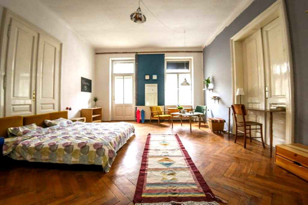 Funky and Artistic room in Centre - Ljubljana - Apartment