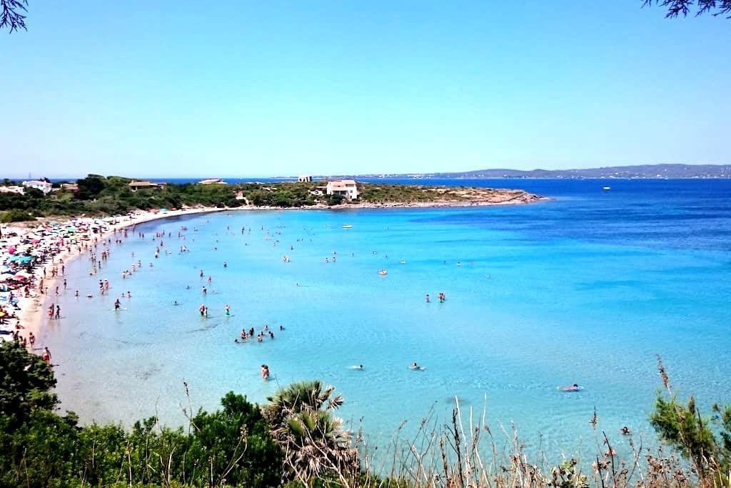 Turchese: 2 min walk from the beach - Calasetta