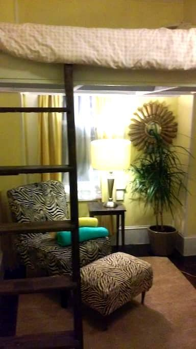 Small Cozy Room in Beautiful House with Loft Bed - Newport - Dům