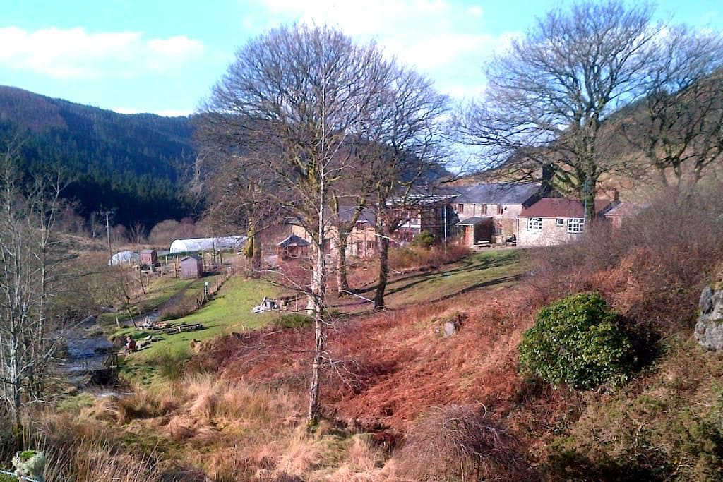 Homely Stone Cottage 'Narnia' - Machynlleth - Hus