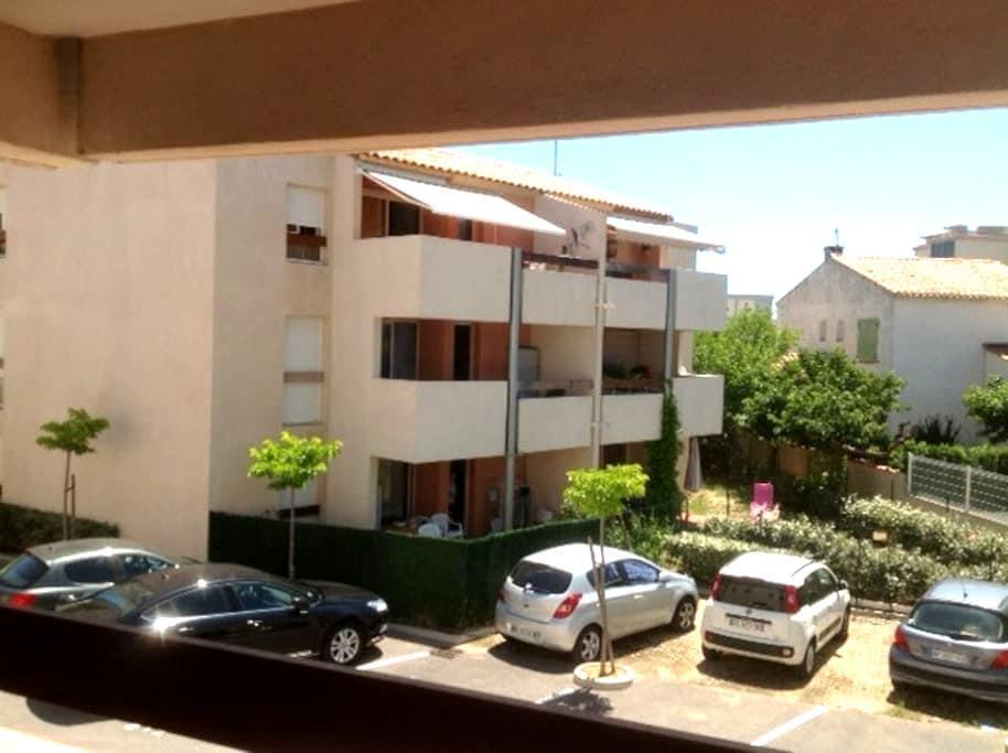 appartement T2 coquet avec parking cures/vacances - Balaruc-les-Bains - Apartment