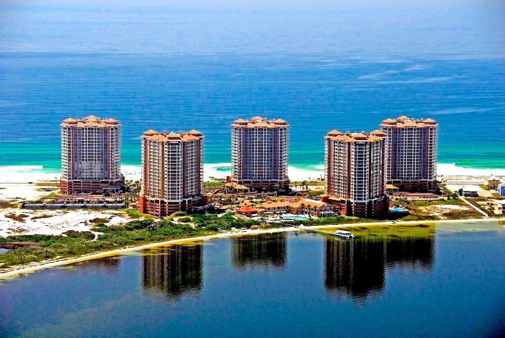 Portofino Island Resort 14th Floor - ペンサコーラ・ビーチ