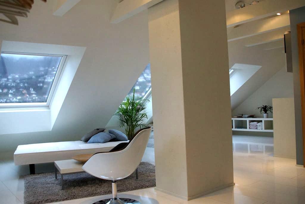 Modern attic apartment - Bergen - Appartement