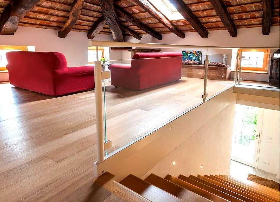 Elegante residenza storica  - Cison di Valmarino - Apartemen