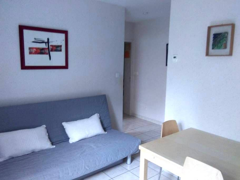 Logement rez de jardin 35 m2 2/3 p. - Brioude