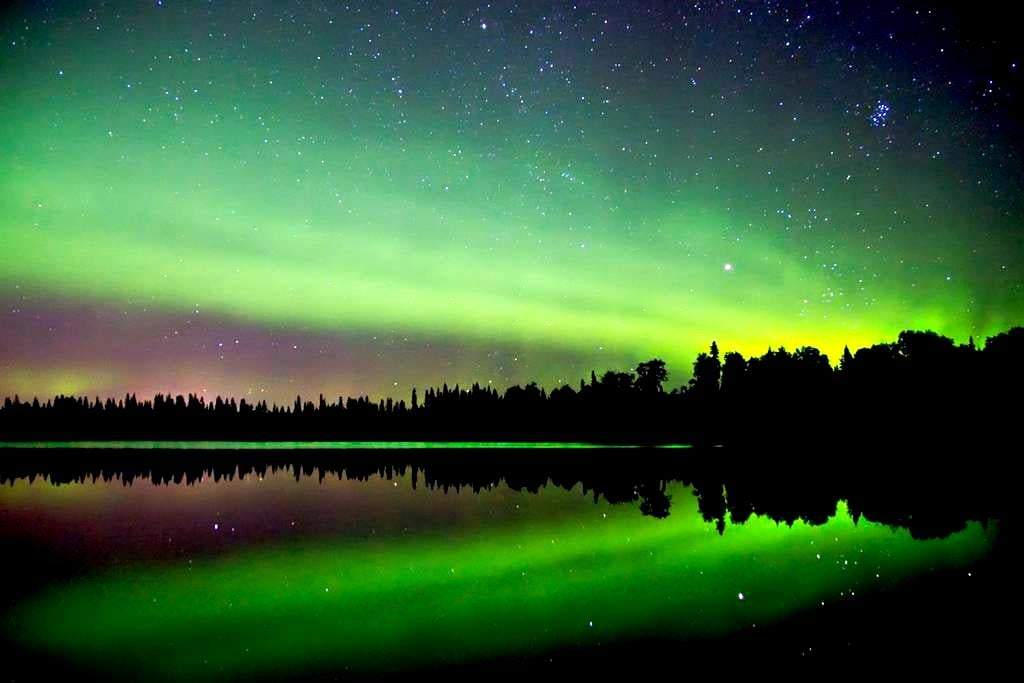 Chena Lake-The Best Place to see the Aurora - North Pole - Casa