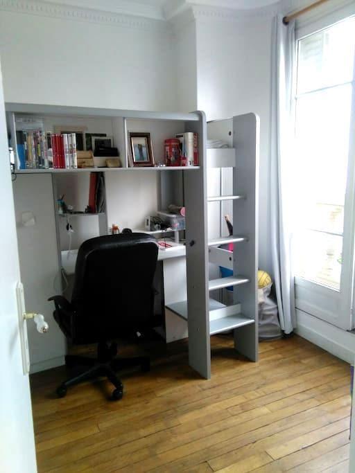 Chambre lit mezzanine - Pariisi