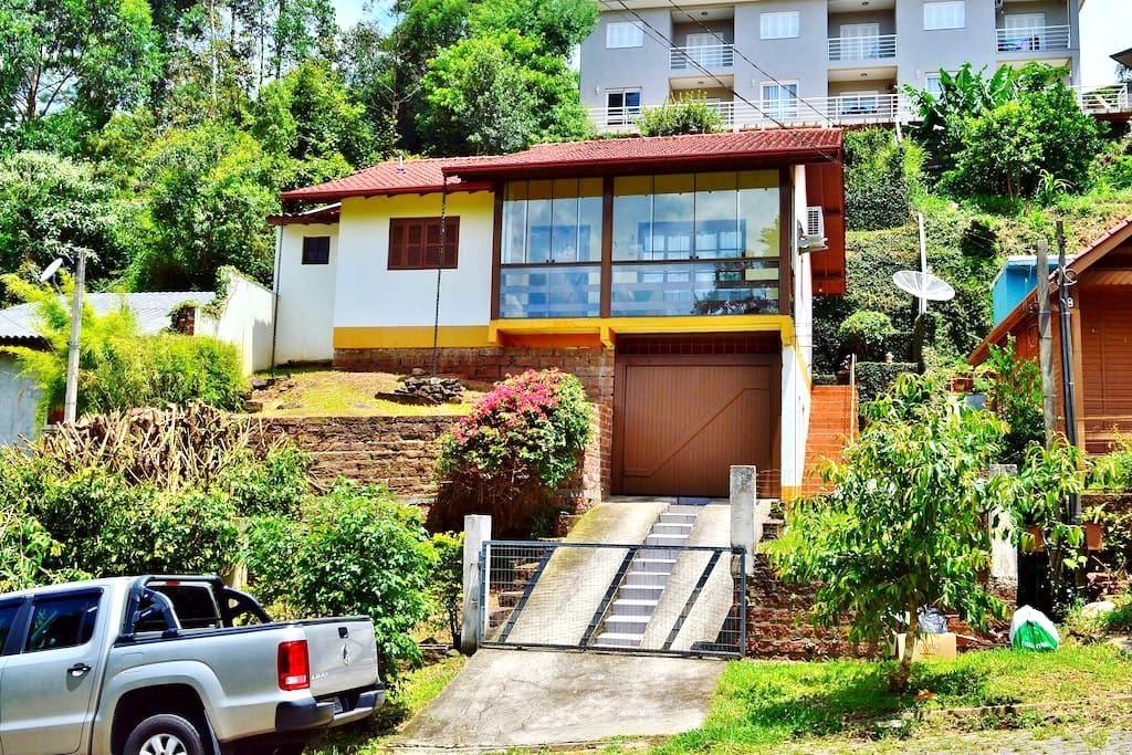 Casa Encantada com muita natureza - Nova Petrópolis - House