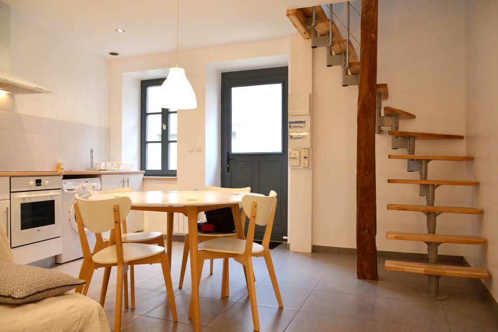 Jolie maison de village entièrement rénovée - Fontaines - Haus