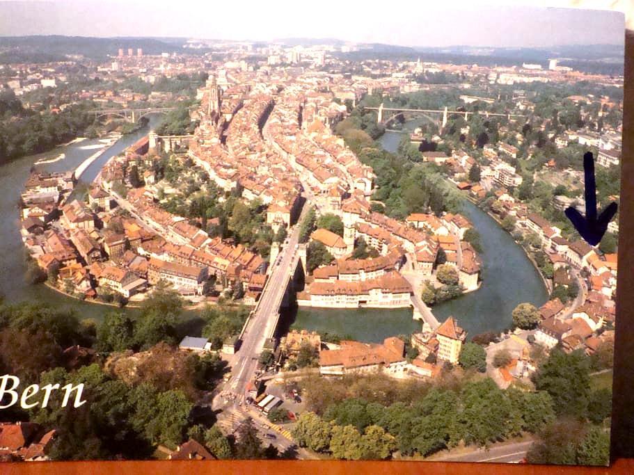 Prime location in Bern by the river - Bern - Flat
