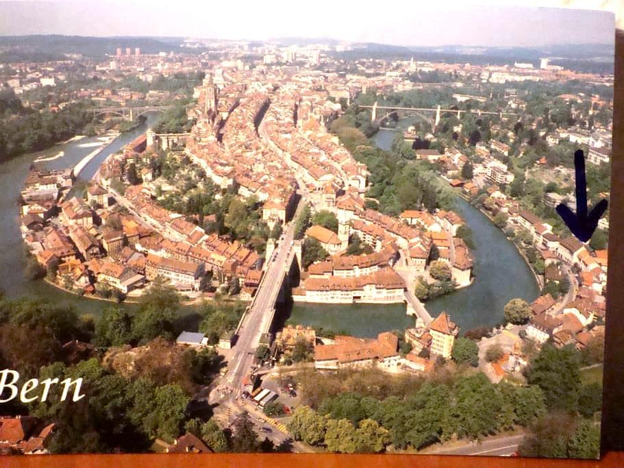 Prime location in Bern by the river - Bern - Flat