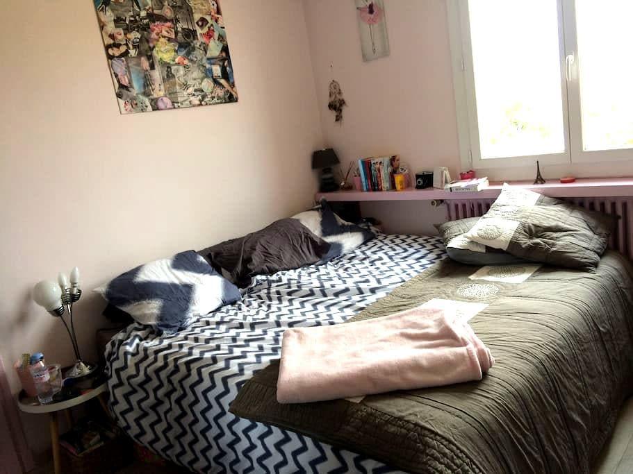 Coquet T2 45m2 privatif dans villa quartier calme - Carcassonne - Apartment