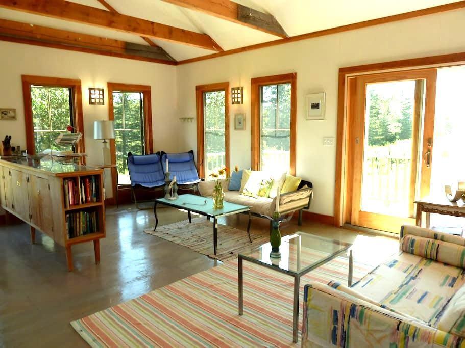 Heron Cottage Elegant Spirit Soaring Waterfront - Stonington - Hus
