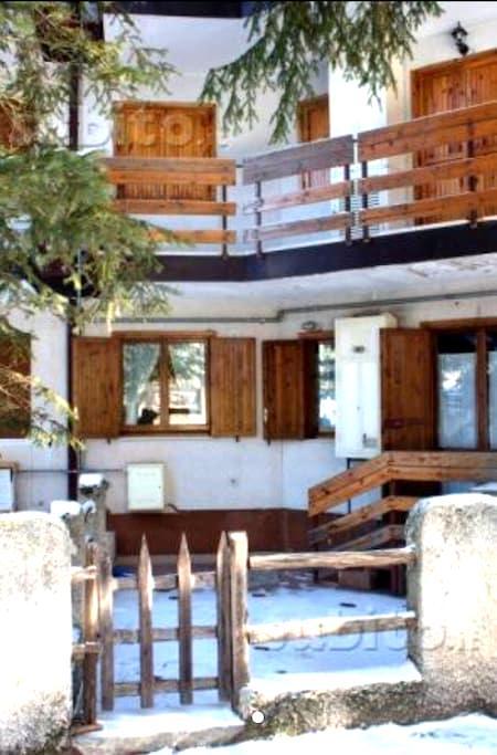 Trilocale Roccaraso con giardino - Roccaraso - Rumah