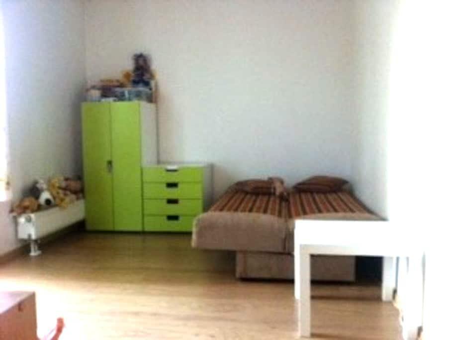 Cолнечная комната с балконом вновостройке RU ES EN - リガ - アパート