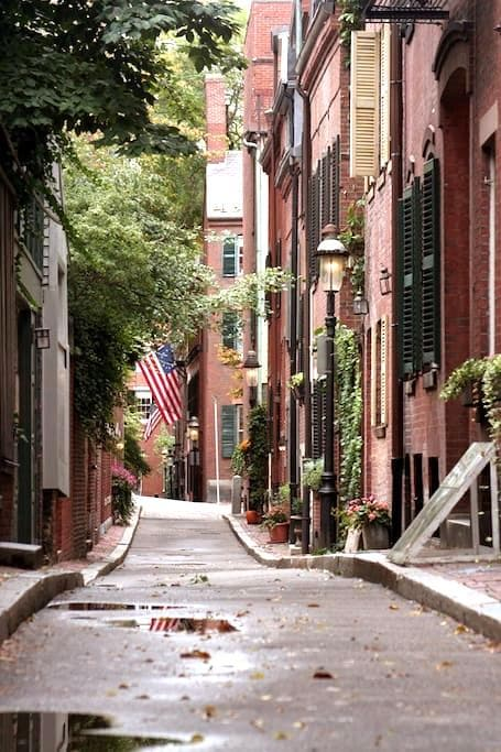 Heart of Beacon Hill Studio - Boston - Lägenhet