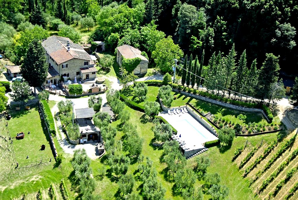 vacanze con piscina in toscana 2 - Gavignano - Apartemen