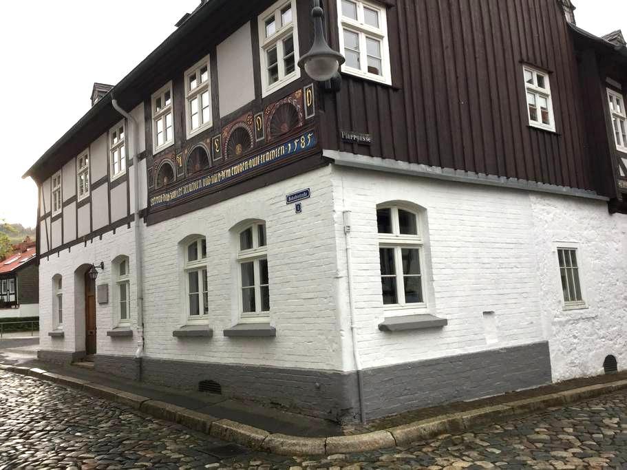 Im 440Jahre alten Haus Gemütlichkei - Goslar - Apto. en complejo residencial