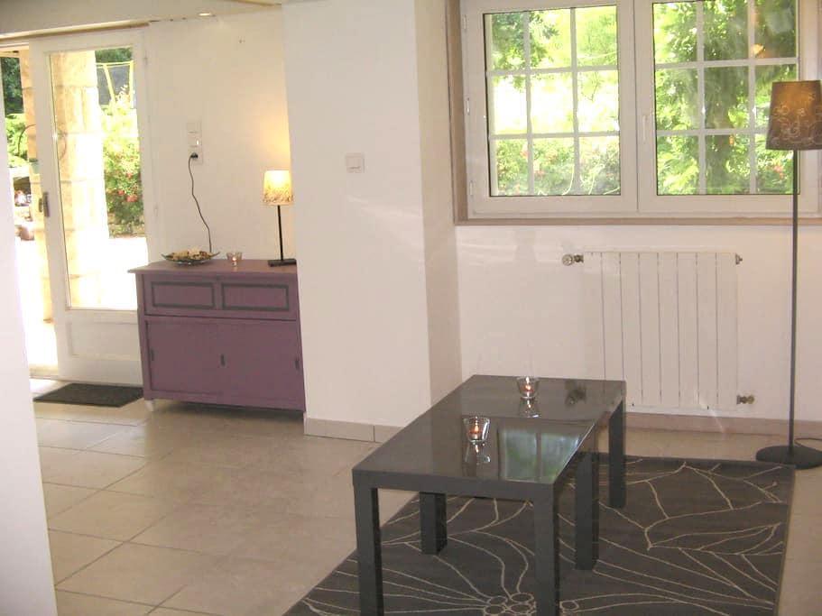 Rez de jardin de 53 m2 au calme dans parc arboré - Plélan-le-Petit - Lägenhet