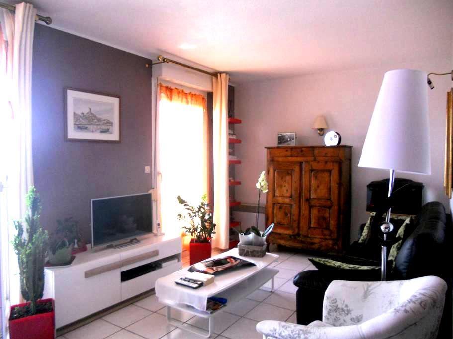 Bel appartement dans résidence calme - Narbonne - Apto. en complejo residencial