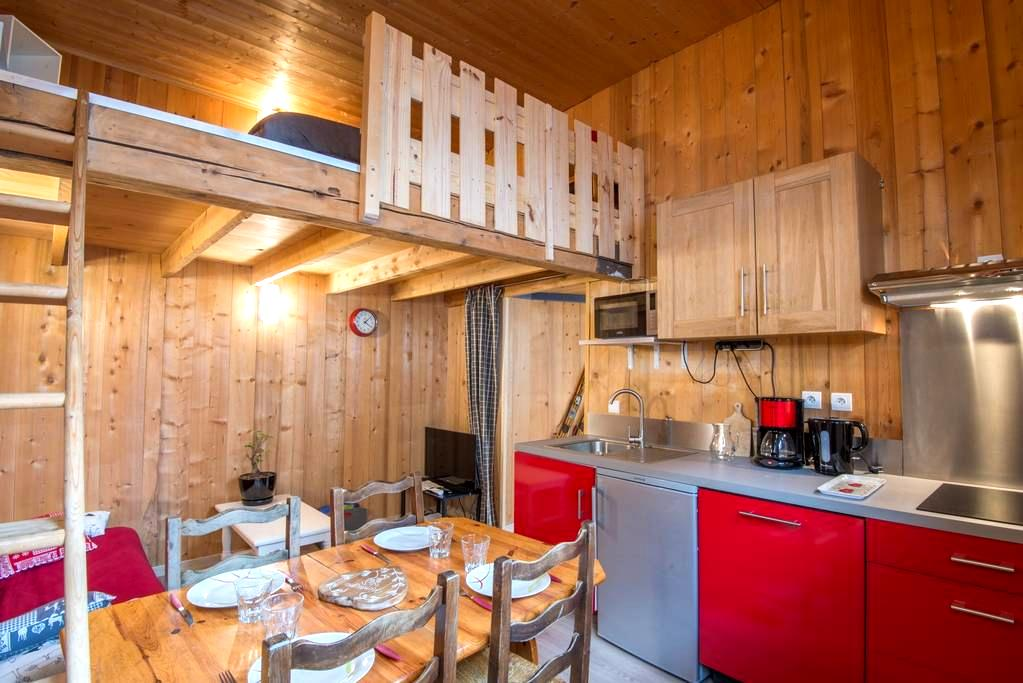 Studio au coeur de Bourg St Maurice - Bourg-Saint-Maurice - Wohnung