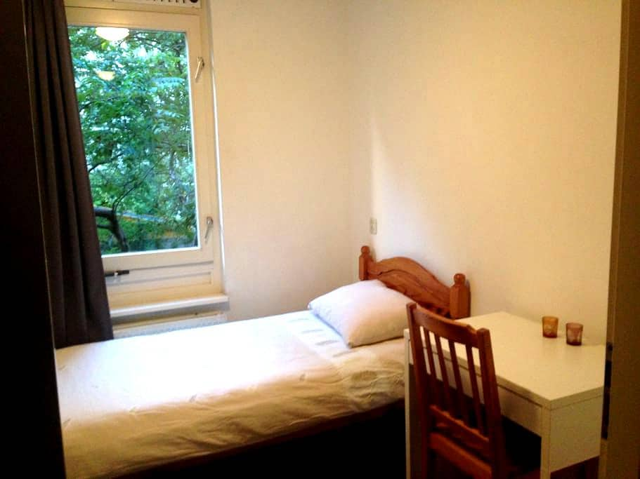 Central, cosy, clean and comfortable room. - Amsterdam - Apartment