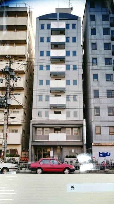 安心、安全、清潔!駅近、なんばまで一駅!(男性のみ)4 - 大阪市西成区 - Appartement