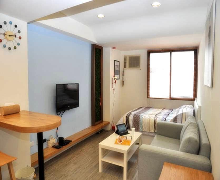 Taichung i can fly  台中艾肯飛逢甲住宿(雙人房,附平面車位) - Okręg Xitun - Apartament