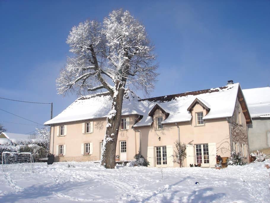 Chambre chez l'habitant - Montagnieu - Guesthouse
