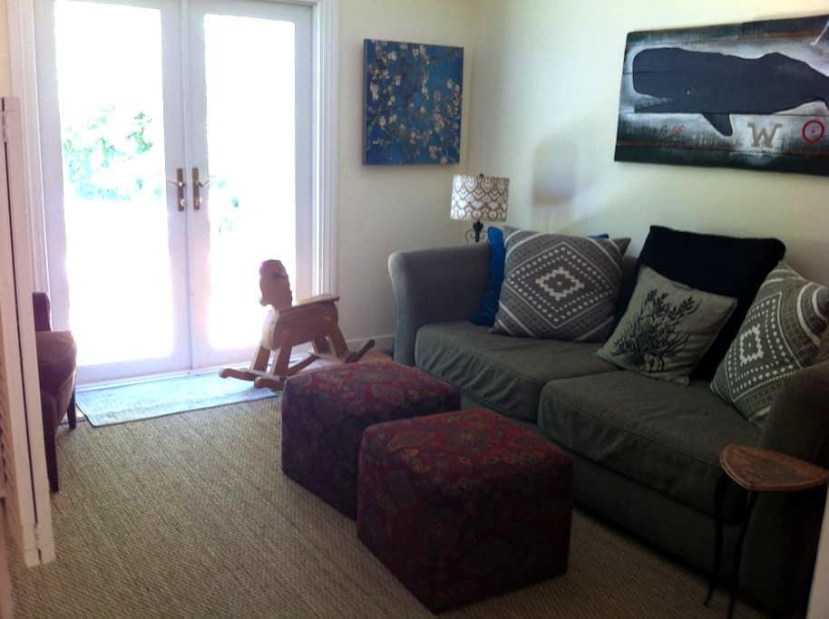 Private Fairfax Suite Under the Redwoods - Fairfax - Haus