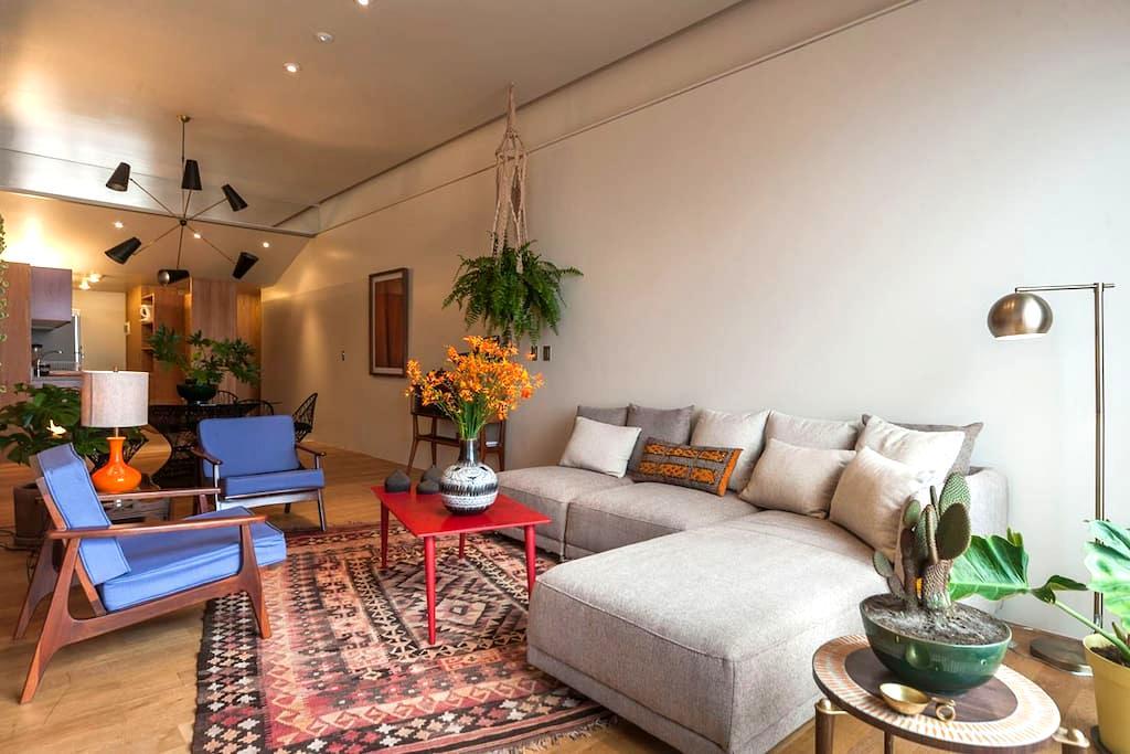 Architecture and design lovers´ perfect loft - Ciudad de México - Appartement