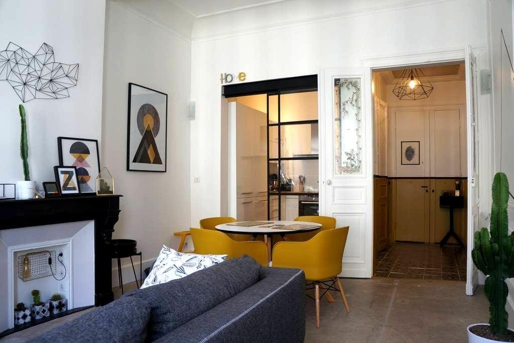 Chambre dans centre historique / SDB privative - Montpellier - Appartement