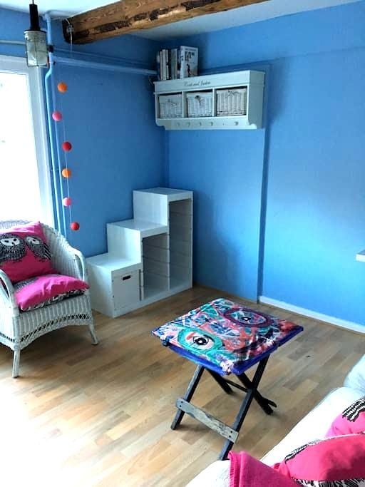 Dejligt værelse ved Havreholm slot - Hornbæk - Rumah