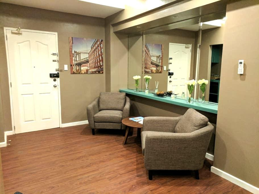 Newly renovated luxurious condo at Eastwood - Quezon City - Apartament
