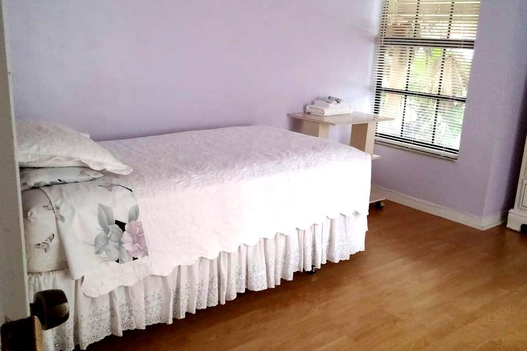 Cozey 1 bedroom - Palm Beach Gardens - Huis