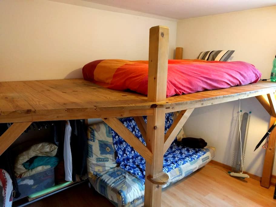 Welcome in the coloc !! - Domène - Apartamento