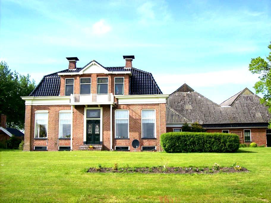 appartement in Groninger boerderij - Pieterburen - Wohnung