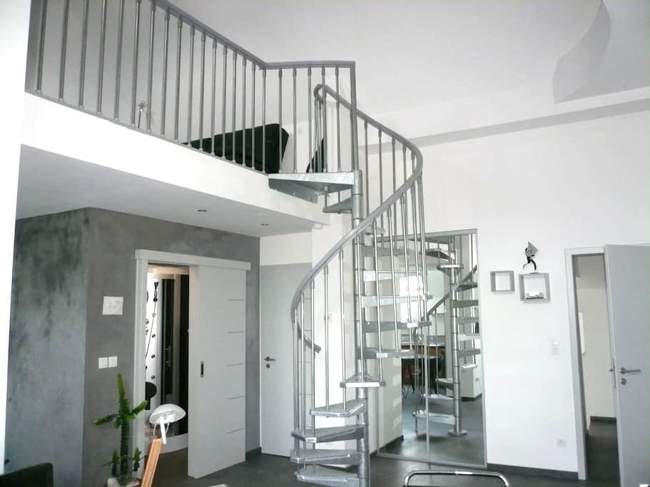 Magnifique duplex  moderne avec chambre mézzanine - Kilstett - บ้าน