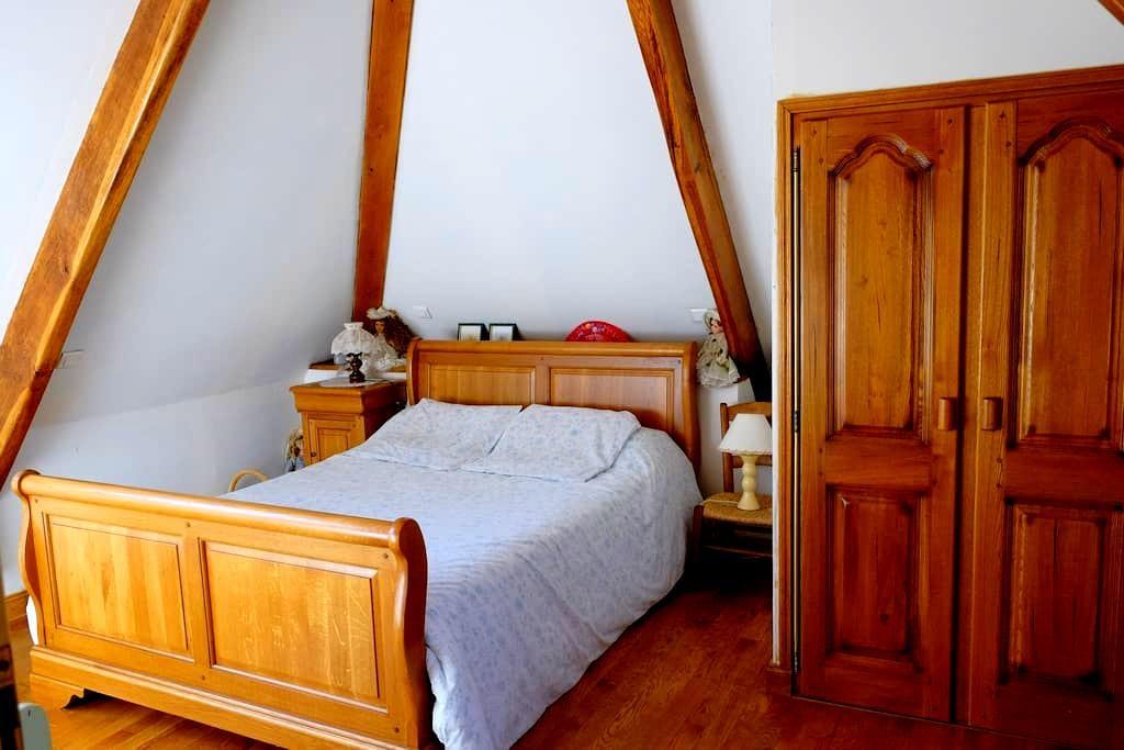 Maison vue Lac Vallée - Chambre 2  - Laval-de-CEre