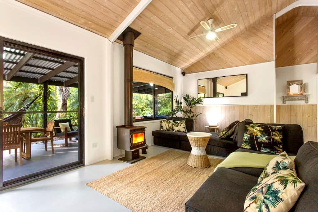 Beach, Surf & Rainforest Retreat - Cootharaba - Casa