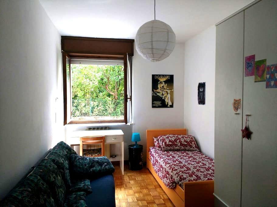Stanza singola/doppia zona ospedale - Rovereto - 公寓