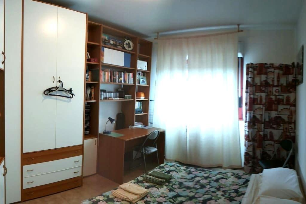 Fiera e Centro Città. Bagno privato - Bolonia - Apartament