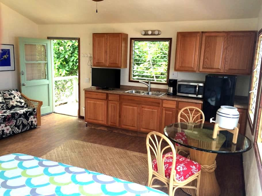 STUDIO APARTMENT WITH PRIVATE BATH AND KITCHENETTE - Captain Cook - Bungalow